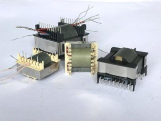 Transformers and inductors with cores